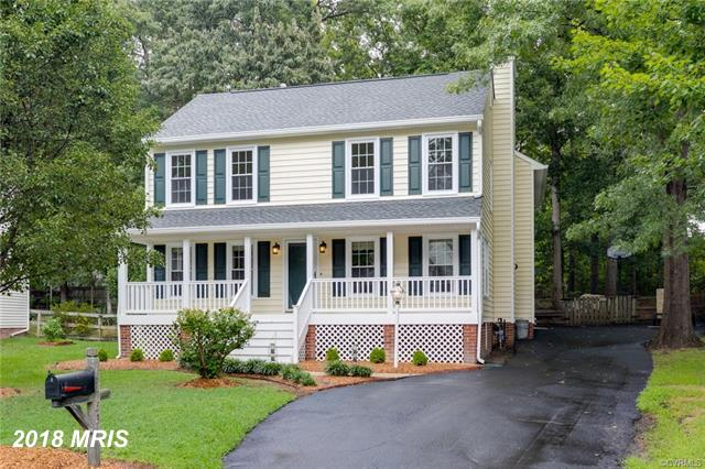 Move-In Ready Colonial Seconds From Short Pump w/New Roof, Siding, Windows, Composite Front Porch, R