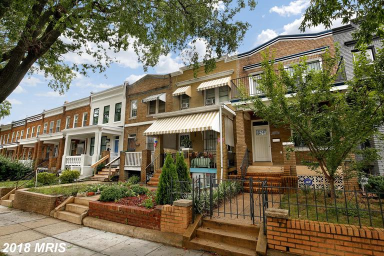 Great investor/dream home opportunity in Trinidad - just steps from H Street Corridor! Three level 3