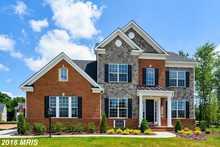 To be built- Emory II from Caruso Homes. From 2962-5375 square feet. 9 foot ceilings on each level.