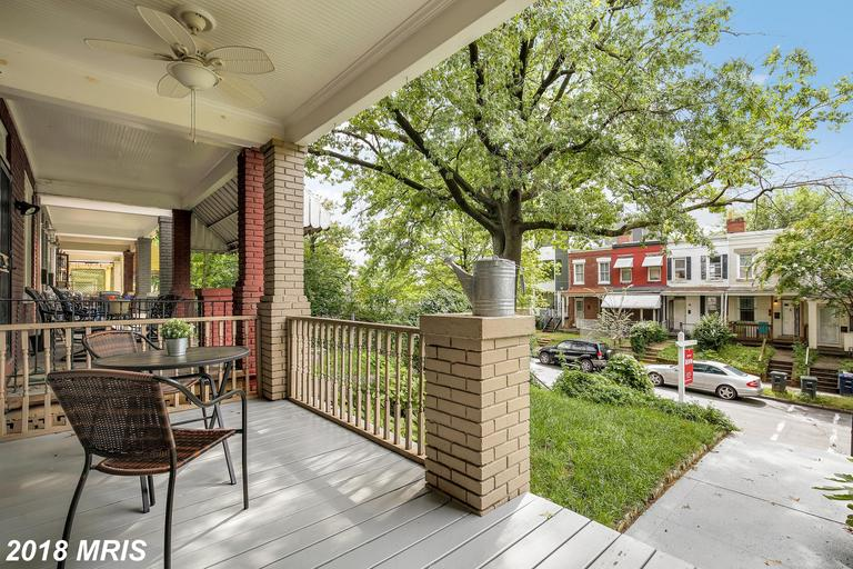 Gorgeous rowhome in the heart of Columbia Heights! Bright & spacious interior features 3 BR, 2.5 BA,