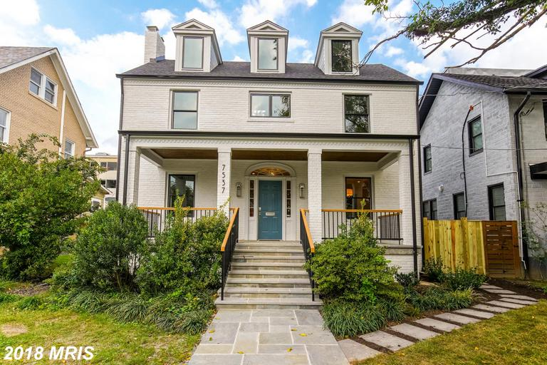 Located in the desirable neighborhood of Shepherd Park.Meticulously renovated, this home has more th