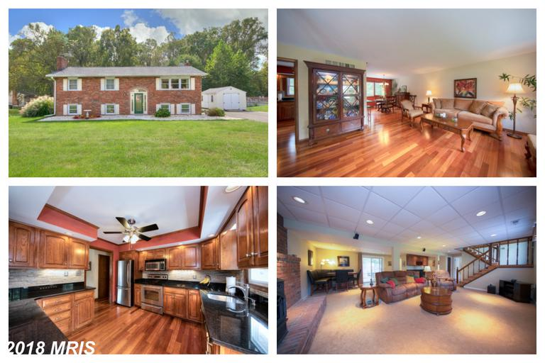 Amazing 4 bedroom, 2.5 bathroom home on 1/2 acre in desirable Montford Glen! All brick home w/ heate