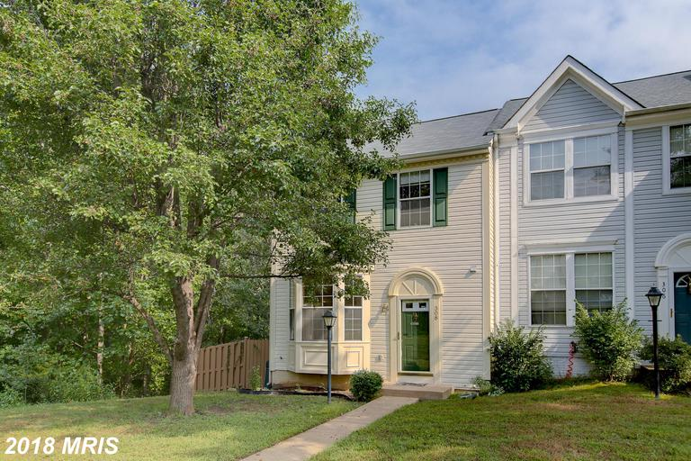 3 bedrom 2 bath END UNIT town home. Secluded a private feeling position in the neighborhood. Large d