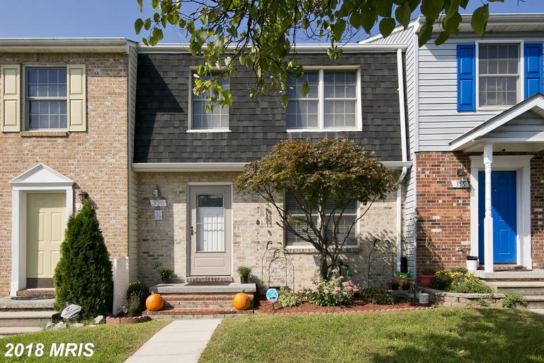 Updated 2 BR, 2 1/2 BA townhome /backs to green space. 2 MSTR suites on upper level. New flooring, c
