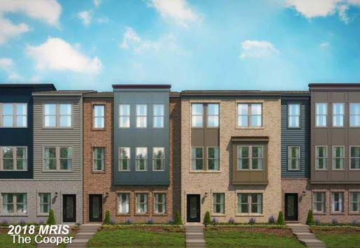 Now selling on-site! Brand new two-car garage townhome with hardiplank and brick standard modern ext